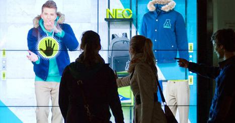 Adidas new concept store : la vitrine interactive avec échange vers le smartphone | E-commerce, M-commerce : digital revolution | Scoop.it