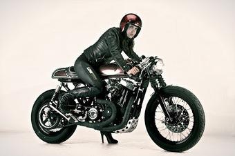 Inazuma café racer: Ton up girl | '94 Ducati 900SS | Scoop.it