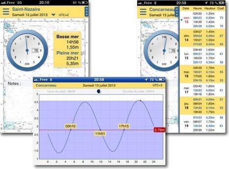 Marée info : SHOM tides prediction on iPhone – Navigation Mac   Sailing and Regatta : Apps, SW & Tracking   Scoop.it