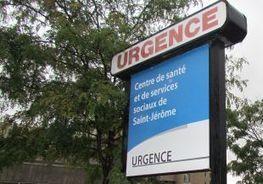 L'urgence déborde à Saint-Jérôme | CAQ BERTRAND | Scoop.it
