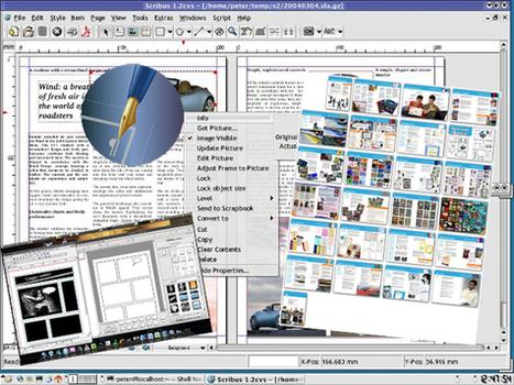 Scribus , pour réaliser des journaux, dépliants, plaquettes, livres et magazines - Canopé Amiens | Ressources informatique et classe | Scoop.it