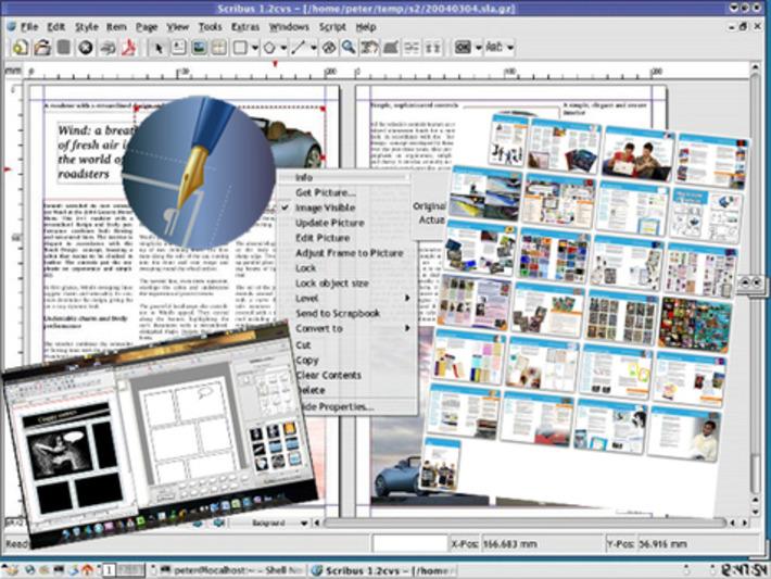 Réaliser des journaux, plaquettes, livres avec Scribus (Impression, Pdf, Epub) gratuitement | TIC et TICE mais... en français | Scoop.it