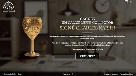 Concours Calice Collector Leffe | idweaver | Online Marketing | Scoop.it