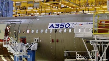 Airbus opens new Toulouse plant for high-tech A350 - Deutsche Welle | Aviation & Airliners | Scoop.it