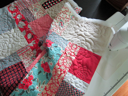 Stitched in Color: {Tutorial} Chrysanthemum Quilting & FMQ Tools ... | Quilting | Scoop.it