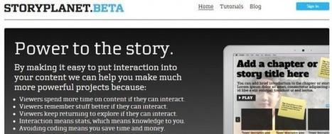 StoryPlanet, convierte imágenes, vídeo y texto en historias interactivas | Recull diari | Scoop.it