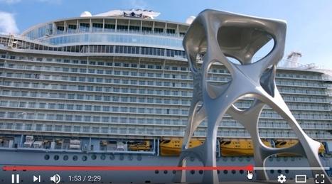 Des tabourets en fonderie aluminium pour le paquebot Harmony of the Seas | Forge - Fonderie | Scoop.it
