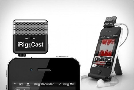 iRig Mic Cast, registrare con l'iPhone - Repubblica.it | AbbeyRedStudioTechnologies | Scoop.it