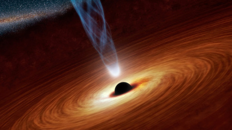 Falling into a black hole may convert you into a hologram or you will hit a firewall of doom | Amazing Science | Scoop.it