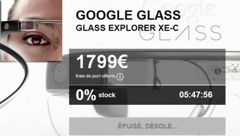 Raz-de-marée sur les Google glass | Scoop.it Sysico | Scoop.it