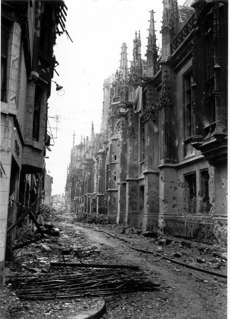 Le Blog de Rouen, photo et vidéo: Rouen sous l'occupation 4 / Bombardements semaine rouge 30 mai au 4 juin 1944 | GenealoNet | Scoop.it