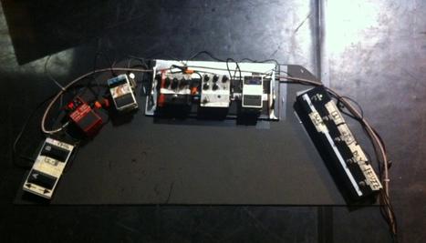 La grande flotta teatrale dei pedali | Soundproducer | Scoop.it