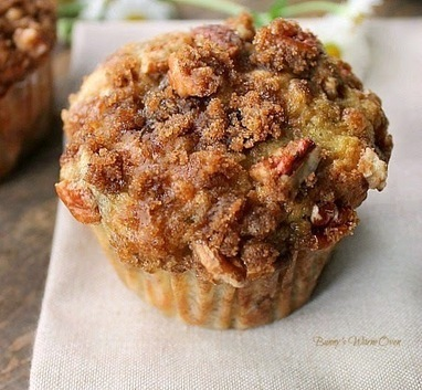Bunny's Warm Oven: Banana Muffins with Crumb Topping | Bunny's Warm Oven | Scoop.it
