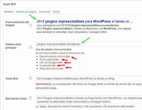 Cómo configurar los mejores plugins de SEO para WordPress   SEO y Wordpress   Scoop.it