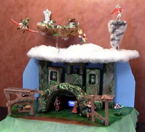 Parents Build Animated Zelda 'Skyward Sword' Cake For Daughter's 10th Birthday | Geek On | Scoop.it