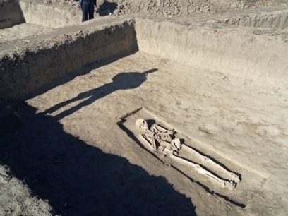 Ancient Necropolis Pops on Bulgaria - Romania Gas Connection Path: Ancient Necropolis Pops on Path of Bulgaria-Romania Gas Link - Novinite.com - Sofia News Agency | History and Archaeology | Scoop.it