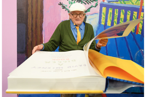British artist David Hockney makes a splash at Frankfurt fair with 2,000-euro book | Books, Photo, Video and Film | Scoop.it