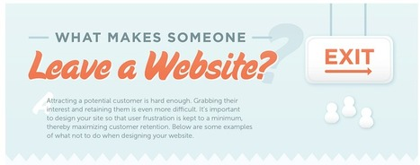 What makes someone leave a website? | Digital marketing & Communications | Scoop.it