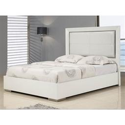 Whiteline Imports Ibiza King Size White Bed   Home Decoration   Scoop.it