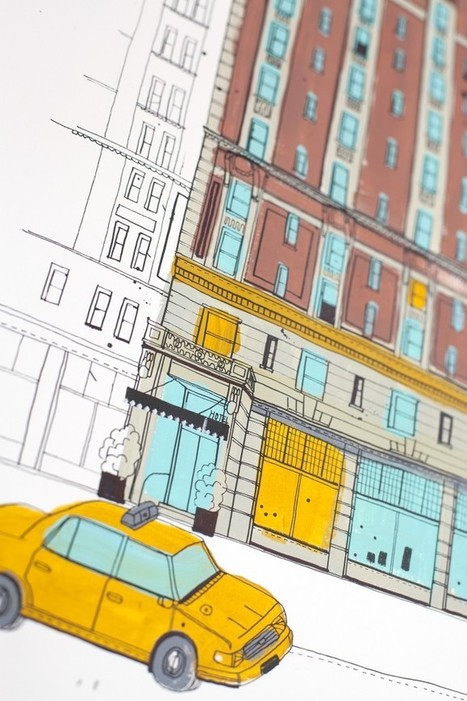 allthebuildingsinnewyork via @ArtNerdNewYork  | #iconic #arch #sketch | The Nomad | Scoop.it