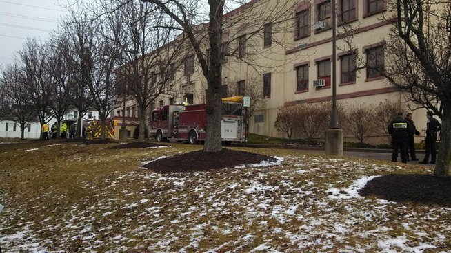 #ALERT 150 Evacuated After Several Sickened By Odor At #RossTwp. School PA - CBS Pittsburgh