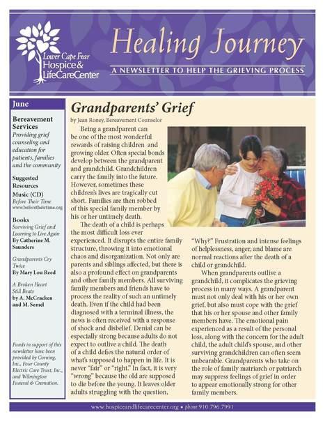 Healing Journey Newsletter | Bereavement Newsletter Articles | Scoop.it