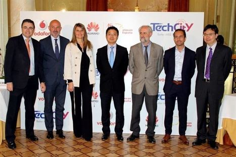 Vodafone y Huawei llevan la red 4G+ (y NB-IoT) a zonas emblemáticas de Madrid | The French (wireless) Connection | Scoop.it