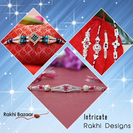 Different Styles of Rakhis and Rakhi Gifts for Your Brother! | Rakhi Sepcial | Scoop.it