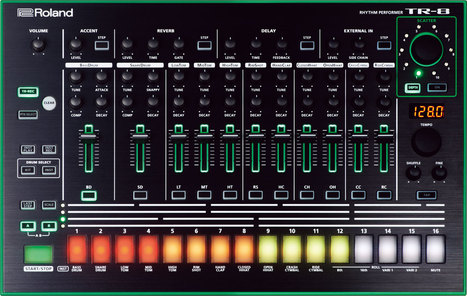 Roland AIRA Series - TR-8, TB-3, VT-3, and SYSTEM-1 Rhythm, Synth, and Vocal Effect Machines | Sonic sense | Scoop.it