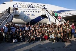 40 Percent Rise This Year in Global Immigration to Israel, Report Shows | Jewish Education Around the World | Scoop.it