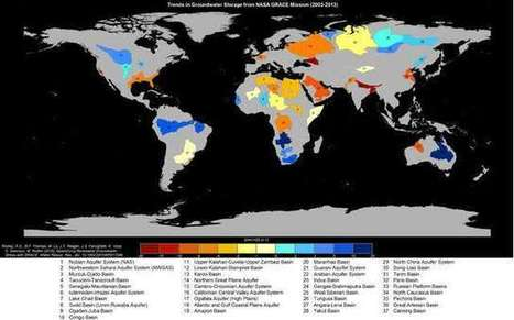 A third of the world's biggest groundwater basins are in distress | TunstallGeog Water Conflicts (A2 Edexcel and G4 WJEC) | Scoop.it