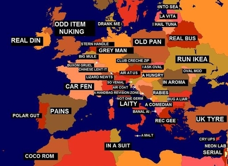 Google Maps Mania: The Anagram Map of the World   TIG   Scoop.it