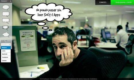 Phrase, utilidad web gratuita para poner bocadillos de texto a tus fotos | Edu-Recursos 2.0 | Scoop.it