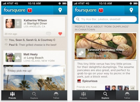 Foursquare 5.0 Puts A Premium On Exploration Rather Than Checking In | Winning The Internet | Scoop.it