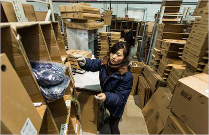 E-commerce finds markets overseas | Global Supply Chain Management | Scoop.it