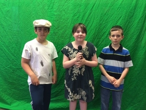 The Green Screen Time Machine in Elementary School - GRANTWOOD AEA DIGITAL LEARNING | iPads in early childhood Education | Scoop.it