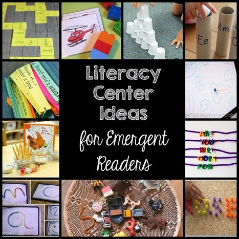 Ten Literacy Ideas for Emergent Readers - Education to the Core | Literacy Learning and Teaching | Scoop.it