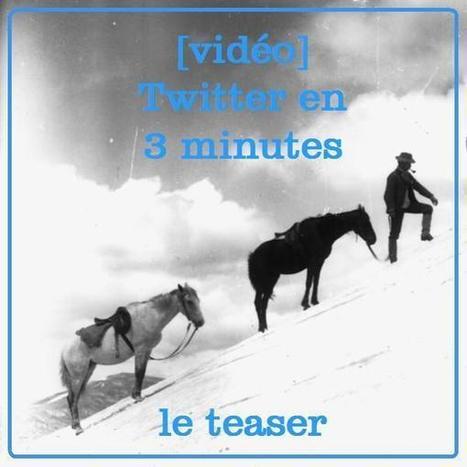 [vidéo] Twitter en 3 minutes pour un-e politique - teaser | Politiscreen | Scoop.it