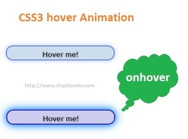 How to use CSS3 animation | HTML5 and CSS3 | Scoop.it