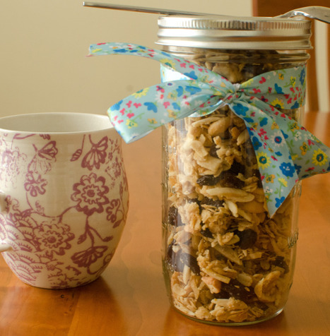 Recipes from the world - Homemade granola | Recipes from the world on Scoop! | Scoop.it