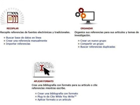 Gestor de citas bibliográficas EndNote Basic - Universidad de Chile   Gestores de referencias.  Tipos y utilidades. Profesionales y académicos   Scoop.it