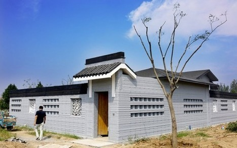 China: 3D Printed House Makes Debut in Shandong Province, Phase One of Ongoing Project | CulturaDigital | Scoop.it