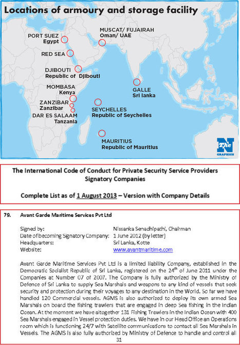 nation.lk ::: - Controversy over floating armories | Maritime piracy | Scoop.it