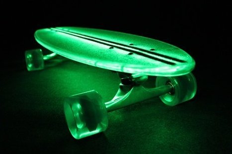 Glowing Skateboard | Startup Ideas | Scoop.it