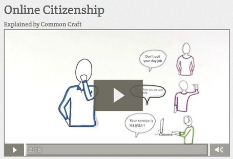 Online Citizenship | Common Craft | Leader of Pedagogy | Scoop.it