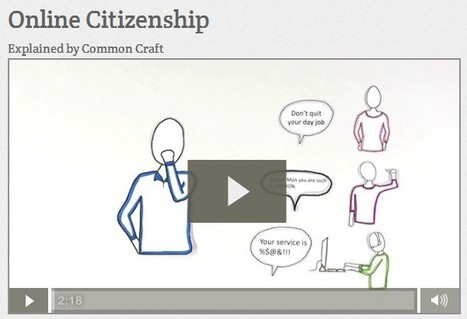 Online Citizenship | Common Craft | Social media and education | Scoop.it