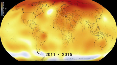 Video: La NASA muestra en 30 segundos cómo ha cambiado el clima - RT | Agua | Scoop.it