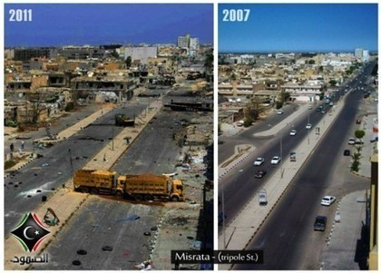 Libya: One Year On (Part 2): Recording NATO's War Crimes | Libya |Axisoflogic.com | Saif al Islam | Scoop.it