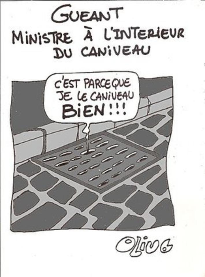 Claude Guéant, Ministre à l'intérieur du caniveau | Baie d'humour | Scoop.it