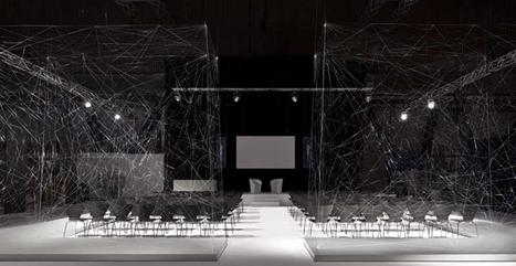 Una trama di fili trasformata in auditorium per il London Design Festival | Architettura, design, arredamento: le case più belle - LIVING INSIDE | Scoop.it
